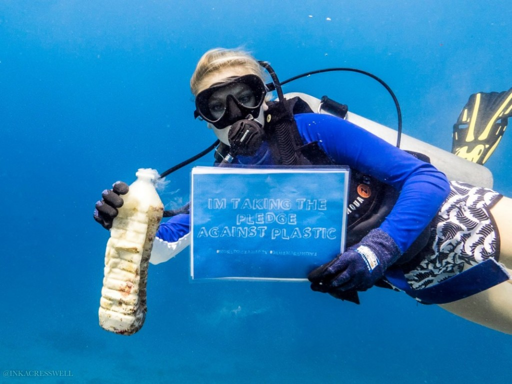 Blue Marlin Dive Gili Trawangan - Single Use Plastic